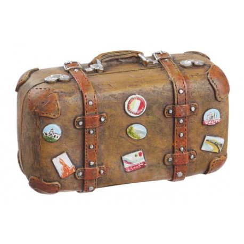 Koffer, Reif für die Insel, 5,8 x 2,8 x 3.7cm