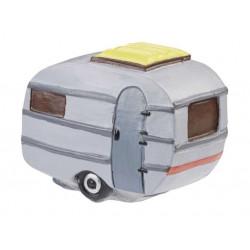 Wohnwagen, 6 x 3,7 x 4,8 cm