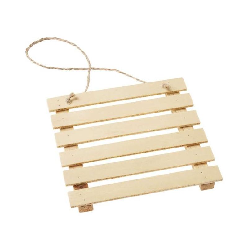 Holz-Palette, 12cm, natur