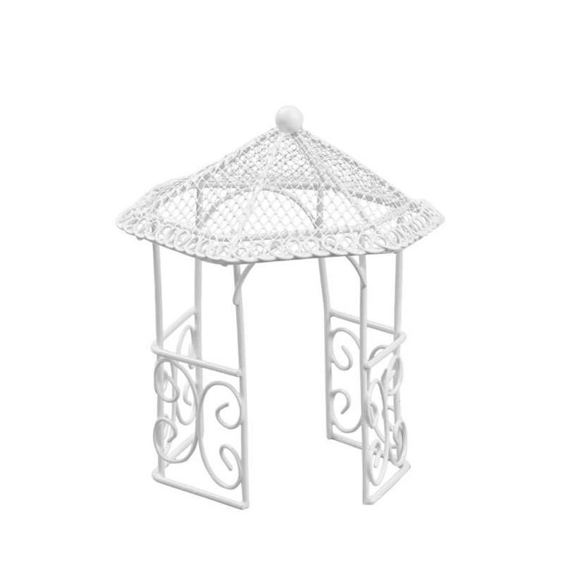 Pavillon, 14cm, weiss