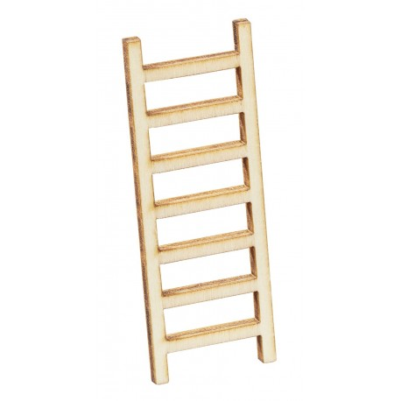 Leiter, 6x2x0,2cm, natur, 2Stk.