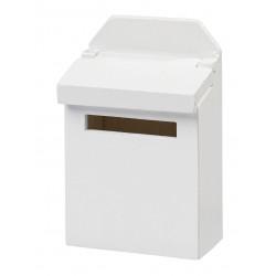 Briefkasten, 4,6x6,9x2,6cm, weiss