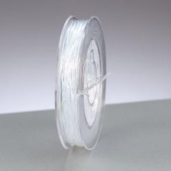 Gummifaden Ø 1mm, klar transparent, 5m