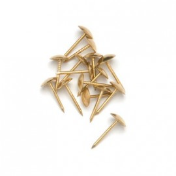 Polsternägel gold, Ø 15mm, 50Stk.