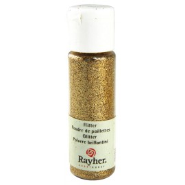 Flitter ultrafein, brillant-gold