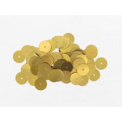 Pailletten rund, gold, Ø 6mm, 7g