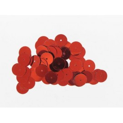 Pailletten rund, rot, Ø 6mm, 7g