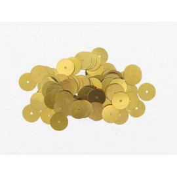 Pailletten rund, gold, Ø 10mm, 7g