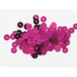 Pailletten rund, pink, Ø 10mm, 7g