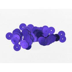 Pailletten rund, violett, Ø 15mm, 7g