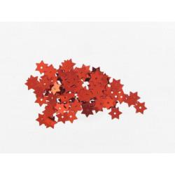 Stern Pailletten rot, Ø 8mm, 3g