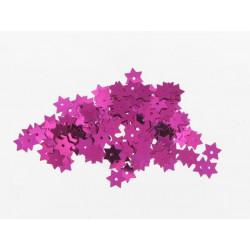 Stern Pailletten pink, Ø 8mm, 3g