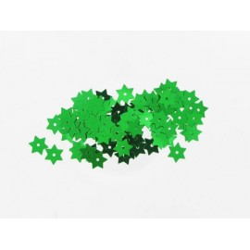 Stern Pailletten grün, Ø 8mm, 3g