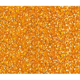 Textilpainter Glitter-Orange,  Ø 3mm