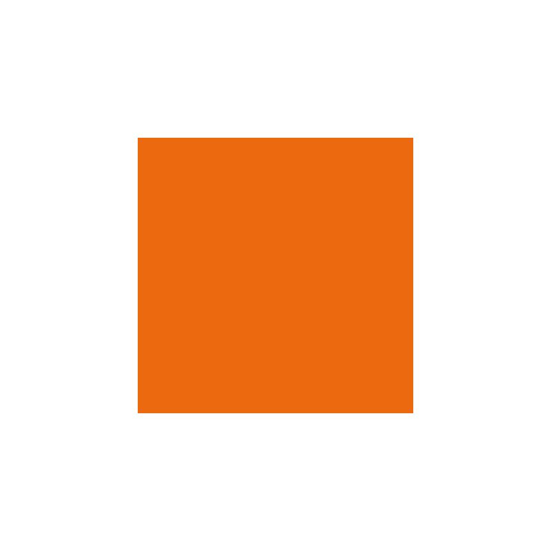 Moosgummiplatte orange, 1Stk