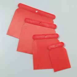Spachtelset Kunststoff, 4teilig, 50/75/100/120mm