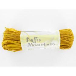 Naturbast, gelb, 20g