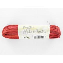 Naturbast, rot