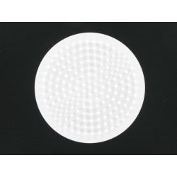 Stiftplatte Kreis, Ø 6.5cm