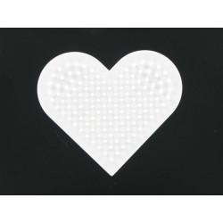 Stiftplatte Herz, 6.5cm
