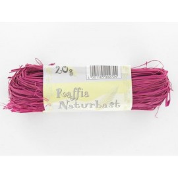 Naturbast, pink, 20g