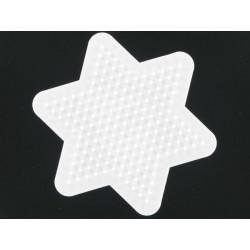 Stiftplatte Stern, 5x8.5cm