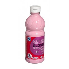 Glossy, 500ml,  pink