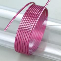 Aludraht violett, 2mm, 5m