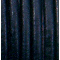Lederriemen schwarz, Ø 1.5mm, 1m