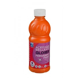 Glossy, 500ml,  orange
