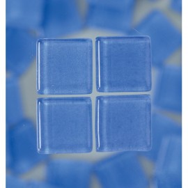 MosaixSoft-Glassteine, hellblau, 20x20x4mm, 200g