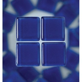 MosaixSoft-Glassteine, blau, 20x20x4mm, 200g