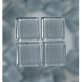 MosaixSoft-Glassteine, grau, 20x20x4mm, 200g