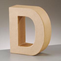 Kartonbuchstabe D, gross
