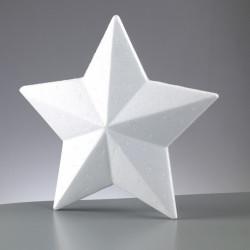 Styropor Stern, Ø 200mm, 2Stk.