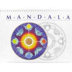 Mandala, 30 Kreis-Malvorlagen, 240x340mm
