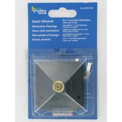 Uhrwerk Quarz, für 7-9mm dicke Zifferblätter