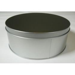 Metalldose rund, Ø 178x70mm, 1Stk.