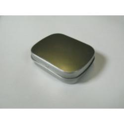 Metalldose rechteck, 60/48x14mm, 1Stk.