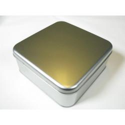 Metalldose quadratisch, 167/167x65mm, 1Stk.