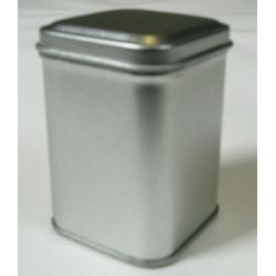 Metalldose quadratisch, 44/44x62mm, 1Stk.