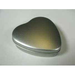 "Metalldose ""Herz"", 95/95x31mm, 1Stk."