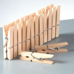 Holzklammern, 30mm