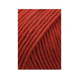 Wolle Merino 120 orange, 50g/120m