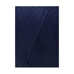 Lang Schulgarn dunkelblau, 50g/160m
