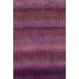 Wolle Mille Colori violett-mix, 50g/92m