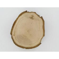 Rindenscheibe rund, Ø 8-10cm
