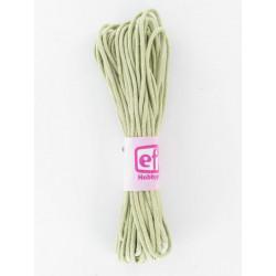 Baumwollkordel gewachst, natur, Ø 1mm / 6m