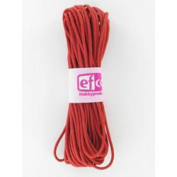 Baumwollkordel gewachst, rot, Ø 1mm / 6m