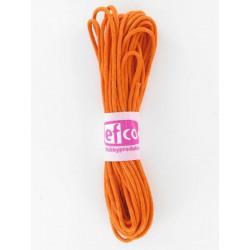 Baumwollkordel gewachst, orange, Ø 2mm / 6m